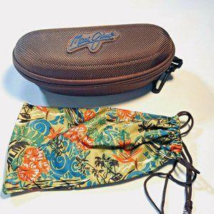 Maui Jim Hard Shell Sunglasses Zipper CASE ONLY
